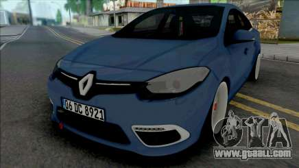 Renault Fluence Quantum Works for GTA San Andreas