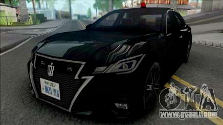 Toyota Crown Athlete 2016 Unmarked Patrol Car for GTA San Andreas