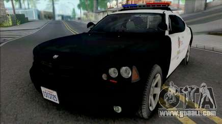 Dodge Charger 2007 LAPD v2 for GTA San Andreas