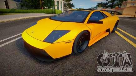 2008 Lamborghini Murcielago SV Roadster (Spoiler for GTA San Andreas