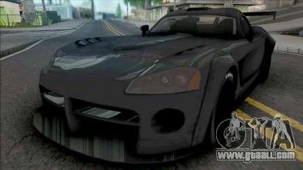 Dodge Viper SRT10 2008 BodyKit for GTA San Andreas