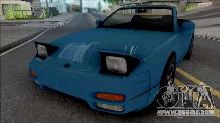 Nissan 240SX Cabrio v2 for GTA San Andreas