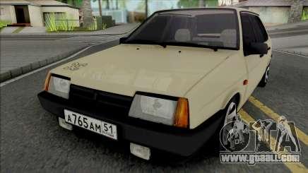 VAZ-21099 Beige for GTA San Andreas