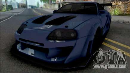 Toyota Supra Tuning (CSR 2) for GTA San Andreas