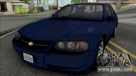 Chevrolet Impala 2000 LAPD Detective for GTA San Andreas
