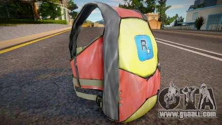 Remastered parachute for GTA San Andreas