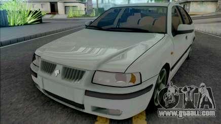 Ikco Samand LX White for GTA San Andreas