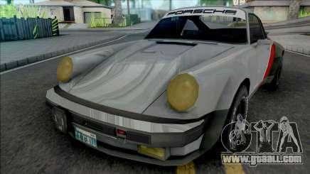Porsche 911 Turbo Cyberpunk 2077 [SA Style] for GTA San Andreas