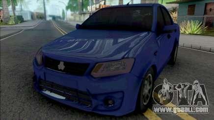 Saipa Saina Blue for GTA San Andreas
