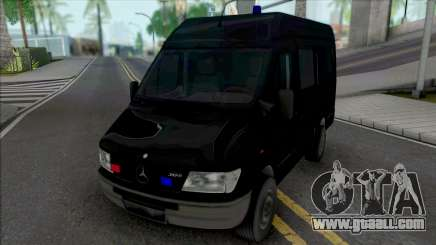 Mercedes-Benz Sprinter Unmarked SWAT for GTA San Andreas