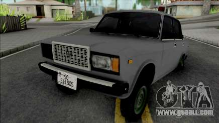 VAZ 2107 Yetim Style Miqalka for GTA San Andreas