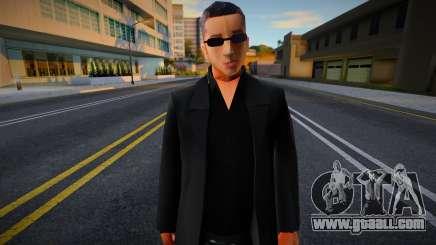 New Wuzimu Skin 1 for GTA San Andreas