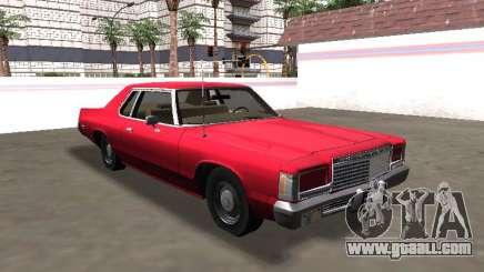Dodge Royal Monaco Coupe 1983 for GTA San Andreas