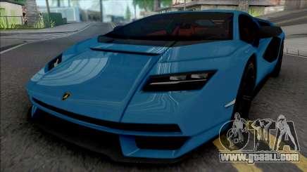 Lamborghini Countach LPI 800-4 for GTA San Andreas