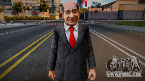 Dead Or Alive 5 - Train Man 4 for GTA San Andreas