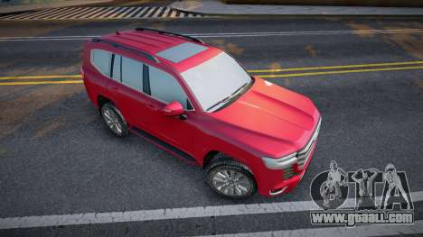 Toyota Land Cruiser 300 2021 for GTA San Andreas