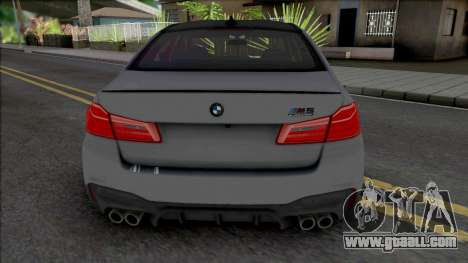 BMW M5 Competition 2019 [HQ] for GTA San Andreas