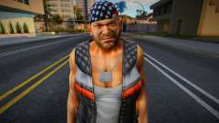 Dead Or Alive 5 - Bass Armstrong (Costume 1) 2 for GTA San Andreas