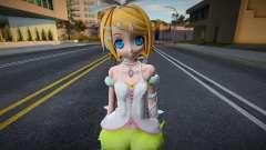 PDFT Kagamine Rin Cute for GTA San Andreas