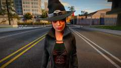 The Goth Witch 1 for GTA San Andreas