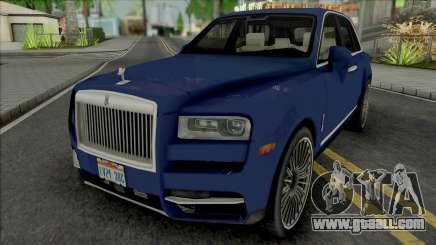 Rolls-Royce Cullinan 2018 (Chrome) for GTA San Andreas