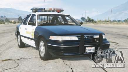 Ford Crown Victoria P71 LA County Sheriffs Department 1997〡add-on for GTA 5
