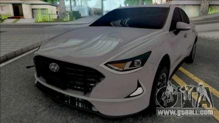 Hyundai Sonata 2020 Rims Full for GTA San Andreas