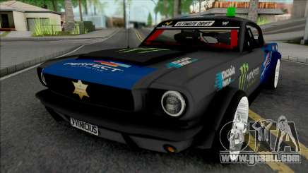 Ford Mustang Sheriff Barion for GTA San Andreas