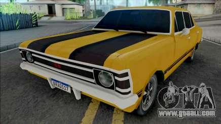 Chevrolet Opala Sedan SS 1972 v2 for GTA San Andreas