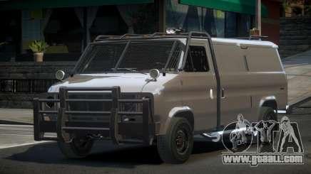 Chevrolet Van Custom for GTA 4
