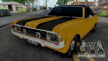 Opel Commodore A Coupe 1969 for GTA San Andreas