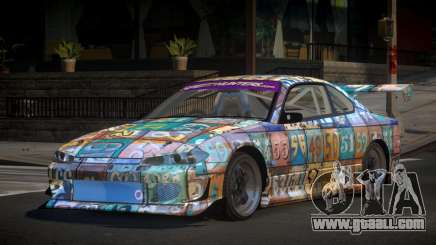 Nissan Silvia S15 Zq L9 for GTA 4