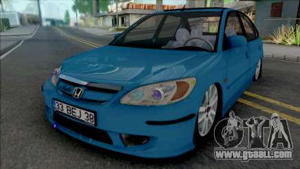 Honda Civic VTEC-II for GTA San Andreas