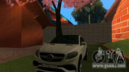 Mercedes-Benz GLE 63 AMG RUS Plates Final for GTA San Andreas