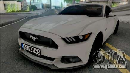Ford Mustang 5.0 Fastback for GTA San Andreas