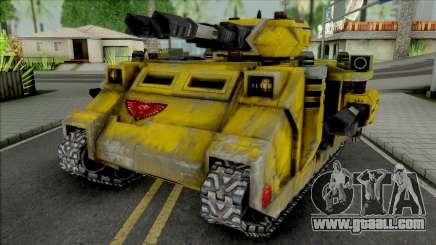 Imperial Fists Predator Annihilator for GTA San Andreas