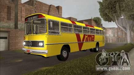Bus Mercedes-Benz O 362 Monobloco 1974 Urban for GTA San Andreas