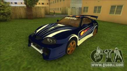 NFSMW Toyota Supra Vic for GTA Vice City