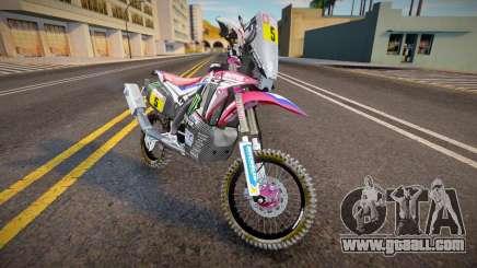 2018 Honda CRF 450R Dakar Rally for GTA San Andreas