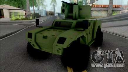 Otokar Akrep 2 4x4 for GTA San Andreas