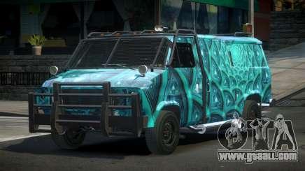 Chevrolet Van Custom S4 for GTA 4