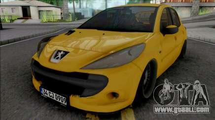 Peugeot 206 (Air) for GTA San Andreas