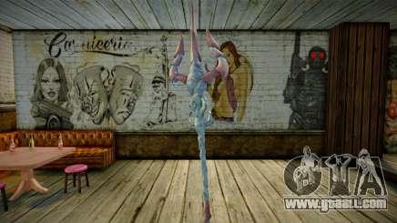 Poseidons Trident God of War 3 for GTA San Andreas