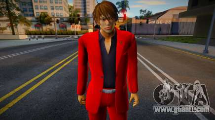 Shin Casual Tekken (Red) for GTA San Andreas