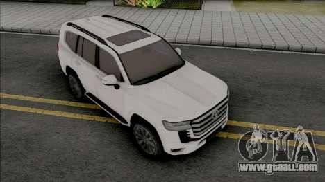 Toyota Land Cruiser 2022 for GTA San Andreas