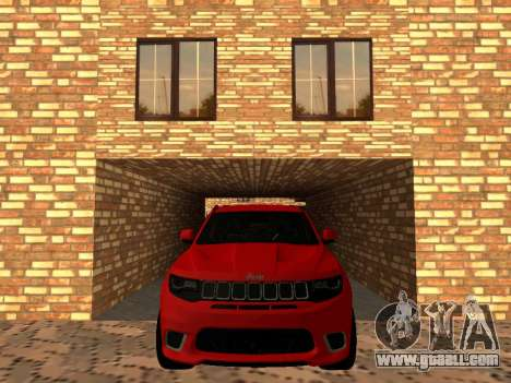 Jeep Grand Cherokee Trackhawk Supercharged for GTA San Andreas