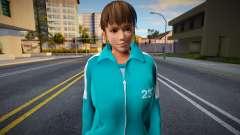 DOA Hitomi Fashion Casual Squid Game N232 for GTA San Andreas