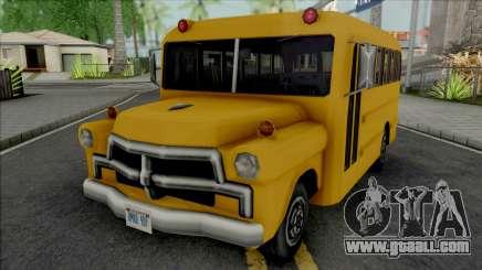 Walton Bus for GTA San Andreas
