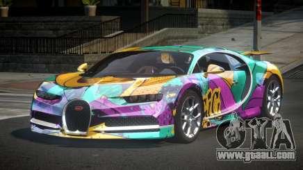 Bugatti Chiron U-Style S7 for GTA 4