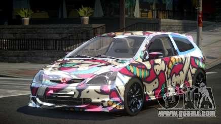 Honda Civic BS-U S8 for GTA 4